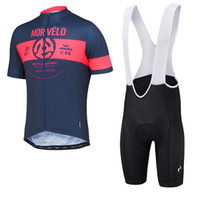 bicycle apparel - 2016 Morvelo King Summer Cycling Jerseys Blue Bicycle Apparel Men Cycling Jersey Set Size XL XS Cycle Wear
