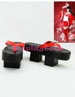 american made slippers - Custom Made American Game LOL Akali The Fist of Shadow Cosplay Slipper Boots Shoes For Christmas Halloween Festival