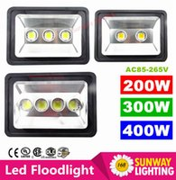 ac street lamps - AC85 V W W W LED Floodlight Outdoor LED Flood light lamp waterproof LED Tunnel light lamp street lamps
