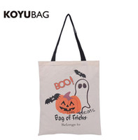 Wholesale 2016 NEW halloween large canvas bags high quality styles halloween gift candy bags for children cm DHL