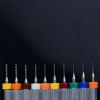 bar circuits - 10Pcs PCB Print Circuit Board Carbide Micro Drill Bits Tool mm to mm B00209 BAR