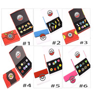 Wholesale New Poke Kanto Metal League Gym Badge Pin Pip Gen Cosplay Prop Collection Set XL T36