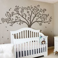 baby nursery room colors - White Tree Wall Sticker Inspiration Baby Nursery Room Removable Vinyl Art Decor DIY Wall Decals inches colors