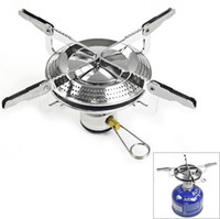 Wholesale High Quality Heat resistant Portable Folding Disk Type Camping Stove