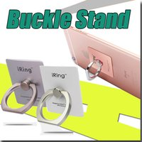 Wholesale phone Holder Rotation D Ring Buckle Stand Mount Holder Bracket for iPad Mobile Phone for ipad for iphone s for Samsung