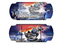 Wholesale Cartoons Anime Transformers Waterproof Decal gift Skin PSP console Cover PSP Skin Stickers Protective Skins