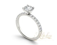 best price diamond rings - Manufacture supply best price sterling silver jewelry Hot new products for diamond anniversary ring BER0162