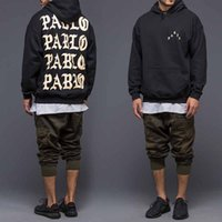 Wholesale kanye west jacket men bomber jackets Letters I FEEL LIKE PABLO printed coats the life of pablo kanye west season hoodies