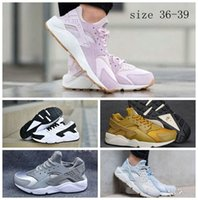 Wholesale Classic pink blue gold grey white Air Huarachesd Women Running shoes Fashion newest huarache casual shoes size