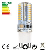 Wholesale 2016 New W G9 Base LED Bulb Lamp High Power SMD3014 AC V White Warm White Light Degrees Beam Angle Spotlight