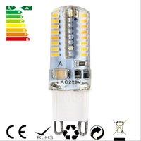 achat en gros de 6w g9 conduit ampoule-2016 Nouveau 6W G9 base Ampoule LED haute puissance lampe SMD3014 AC 220V Blanc / lumière blanche chaude 360 degrés Angle de faisceau Spotlight