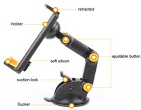 asus phone pad - Adjustable Foldable Rotary Suction GPS Mobile Phone Car Mats pads Holder Stand Mounts For LG V10 K8 LG X cam LG X screen ASUS Pegasus Plus