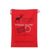 Wholesale 2016 cotton Christmas gift bags Christmas bags Christmas Canvas Spot mixed batch of encore Christmas bag
