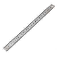 Wholesale _ cm inch Stainless Steel Double Sided Metal Ruler Measuring Tool