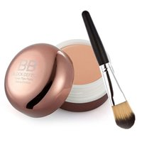 bb cover - Cosmetic Blemish BB Cream Concealer Smooth Moisturizing Face Cover Foundation Makeup Brush