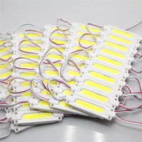Wholesale Super Bright COB W W LED Modules K Cool White COB LED Chip Wateproof IP67 R G B Warm White V Led Advertising Light
