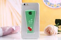 apple juice drinks - 1PCS D Liquid Flow Coke Juice Style Case Drinks Fruit Milk beer Drinks Cup Clear Hard Case Cover for iPhone plus quot