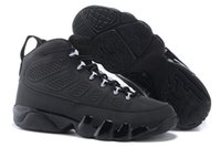 anthracite leather shoes - Cheap New Retro s IX Anthracite White Black Mens Womens Basketball Shoes For Men Sneakers Athletic Running Shoes