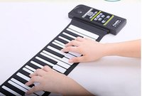 Wholesale q13 Hand rolled piano keys Professional thickening independent portable folding MIDI analog electronic piano keyboard