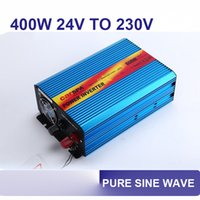 Wholesale 400w v to v dc ac power inverter pure sine wave hz with car fuse P400U