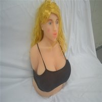 Wholesale 3D Realistic Full Silicone Sex Doll with Head japanese sex dolls for men Soild Love Doll with big big Breast Oral sex toys
