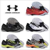 under-armour - Under Armour UA Carry II Men Basketball Shoes New Discount Low Cut Sneakers Original Sports Boots Size