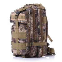 Wholesale Outdoor Sport Camouflage Army Fans Mountaineering On Foot Package Both Shoulders P Tactic Backpack