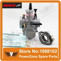 Wholesale KOSO PWK Carburetor mm With Power Jet Motorcycle Racing Carburetor cc cc cc GY6 Dirt Pit Off Road Motocross Bike