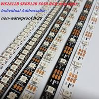 Wholesale WS2812B SK6812 RGB LED Strip leds Leds LED M LED M LED M Individual Addressable non waterproof IP20 DC5V