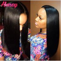 silk top full lace wigs - 7A Brazilian Silky Straight Silk Base Full Lace Wig Virgin Glueless x4 Silk Top Full Lace Human Hair Wigs