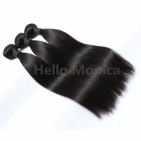 Wholesale Hello Monica Hair Peruvian Human Hair Straight A Peruvian Straight Hair Bundles Peruvian Hair Weave