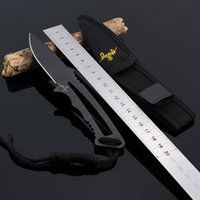 Wholesale Tactical Knife Hunting Knife High Quality Pocket Straight Survival Outdoor Hunting Camping Combat Tools Letter Opener Gift Cutter Steel Hand