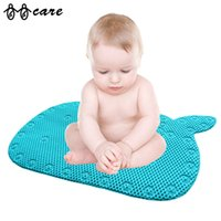Wholesale Bathroom Non Slip Baby Mats Blue Ocean Style Bath Mat New Bathroom Toilet Mat Home Decor