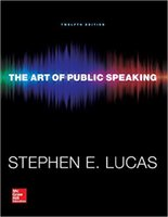 arts book - 2016 New Book The Art of Public Speaking by Stephen E Lucas Free DHL Shipping