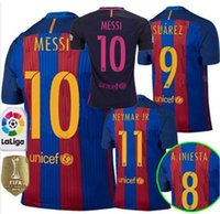 Wholesale 2016 camisetas de futbol maillot de foot football custom shirt