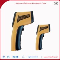 Wholesale 100 Brand New portable infrared thermometer gun point for industry use GM400