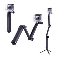 arm mount camera - Go Pro Accessories Way Monopod Mount Camera Grip Extension Arm Tripod Stand for Action Camera Gopro Hero SJ4000