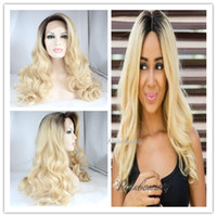 Cheap top quality brazilian human hair wigs body wave hair wigs 10inch to 30inch ombre #613 good quality hair wigs free shipping