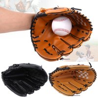 Wholesale Baseball Glove quot PVC Men Softball Baseball Pitcher Glove Sports Player Left Hand
