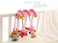 Wholesale New Multifunctional Plush Baby Bed Hanging Car Hanging Newborn Toy Baby Rattles Baby Mobiles Years PC