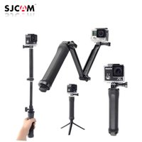Wholesale New Version GoPro Accessories Collapsible Way Monopod Mount Camera Grip Extension Arm Tripod for Gopro Hero SJ4000