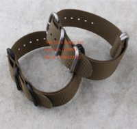 Wholesale Suunto Core Nylon Diver Strap Band Kit w Lugs Adapters ArmyGreen ring mm Zulu Nato Watchbands