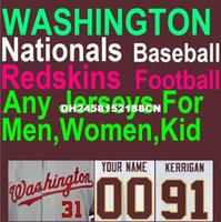 authentic redskins jerseys - American Football Baseball Jersey Washington Nationals Redskins Jersey Taylor Kirk Cousins Cheap Authentic Sports Jerseys China