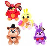 Wholesale Kawaii Five Nights At Freddy s Juguetes Fnaf World Freddy Bear Chica Bonnie Plush Stuffed Animal Foxy Kids Toys Peluches Doll