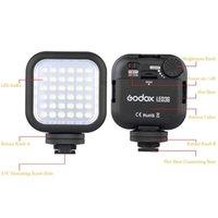 Wholesale New Arrival Godox LED36 LED Video Light LED Lights for DSLR Camera Camcorder mini DVR