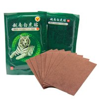 Wholesale White Tiger Ointment Vietnam Muscle Neck Body Massager Massage Relaxation Capsicum Rheumatism Plaster Pain Patch