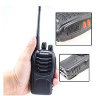 Wholesale Baofeng BF S Handhold CB Radio Interphone Transceiver Mobile Two Way Radio Walkie Talkies UHF W CH Single Band DZ058 With Package Box