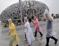 Wholesale Disposable PE Raincoats Poncho Rainwear Travel Rain Coat Rain Wear Gifts Mixed Colors