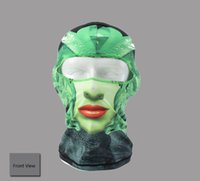 Wholesale Outdoor Sports Headgear Hat Cap Tactical Balaclava Face Mask Cycling Windproof Maks For Protection Halloween Full Face Neck Guard Mask
