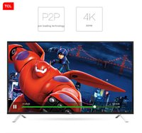 Wholesale TCL inch UHD K Ultra HD LED TV ultra narrow design WIFI TV Internet Android Smart TV popular products